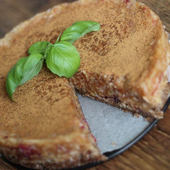 Jablečný RAW dort