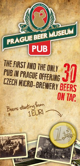 "Prague Beer Museum | ""Although the name seems aimed at the tourist market, this lively and always heaving pub is very popular with Praguers. There are no fewer than 31 beers on tap (plus an extensive beer menu with tasting notes to guide you). Try a sample board – a wooden platter with five 0.15L glasses containing five beers of your choice"""
