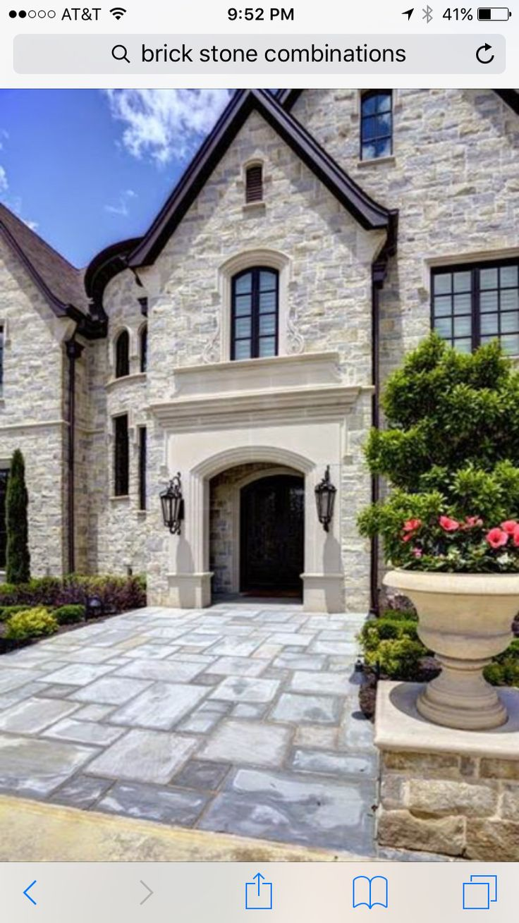1000 Ideas About Stone Home Exteriors On Pinterest