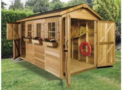 Cedarshed Boathouse 12x8 Shed