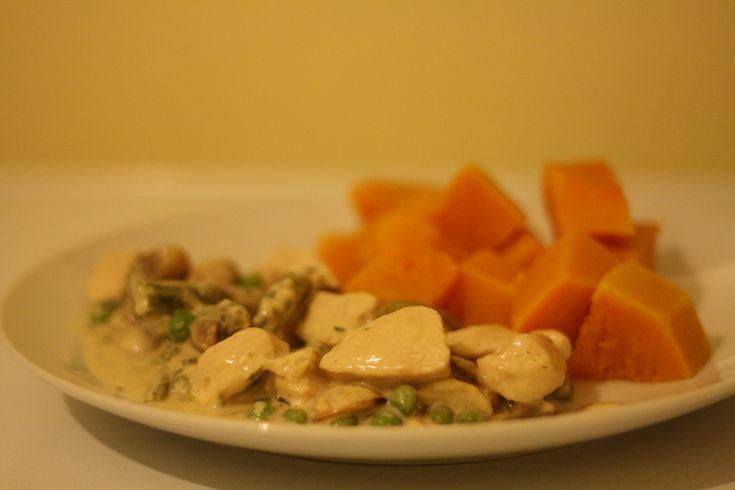 Chicken fricassee, Tarragon chicken and Chicken on Pinterest