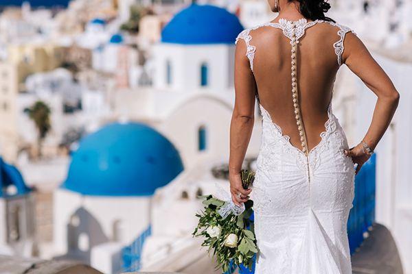 Santorini wedding | Erin & Nick - Love4Wed
