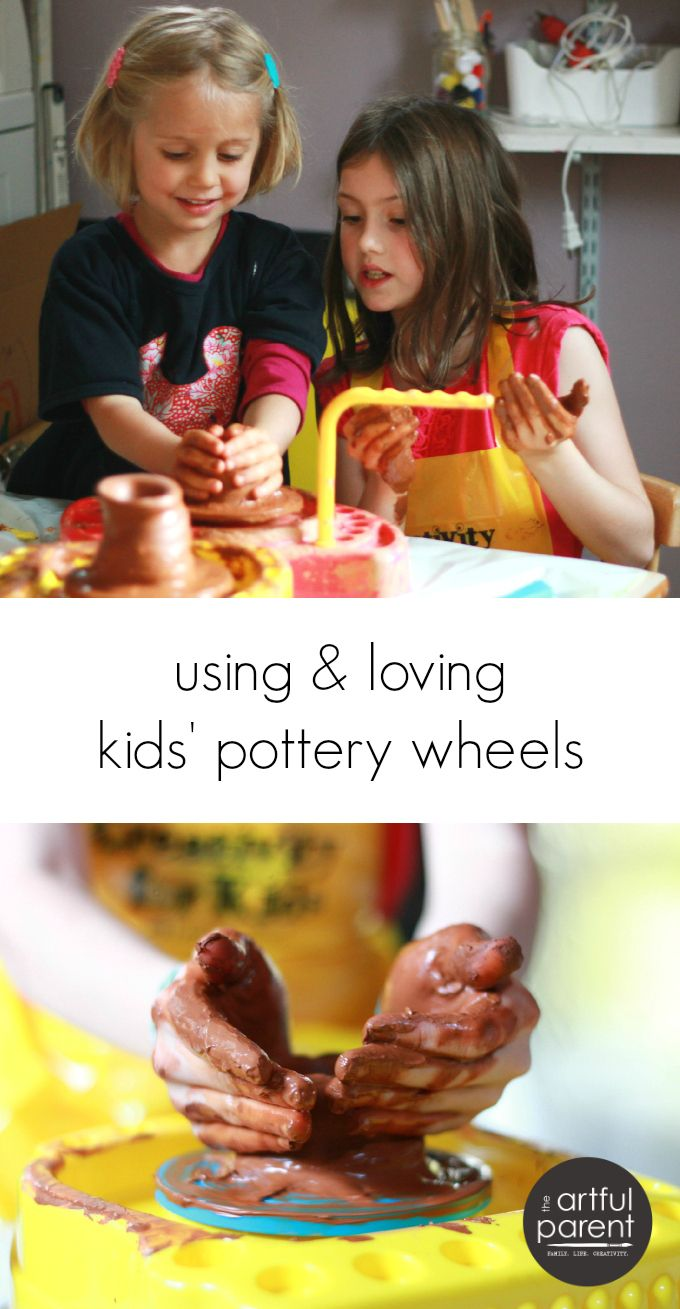 Why we love our kids pottery wheels (even though they are cheap and plastic-ky)