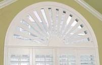 plantation blinds for half circle window