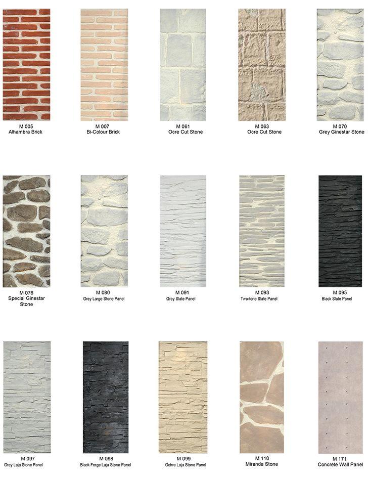 Decorative wall cladding options