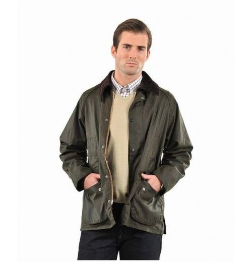 Barbour Mens Classic Bedale Waxed Jacket Discount