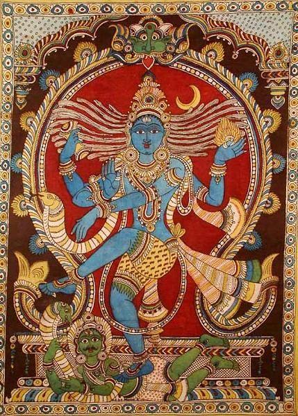 Indian Painting Styles...Kalamkari Paintings (Andhra Pradesh)-nataraja.jpg