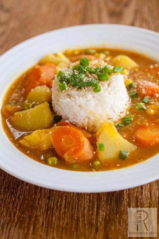 Vegan Japanese Curry | vegan miam