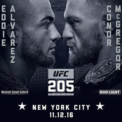 #tickets UFC Tickets 11/12/16 (New York) Sections 2 Row 8 please retweet