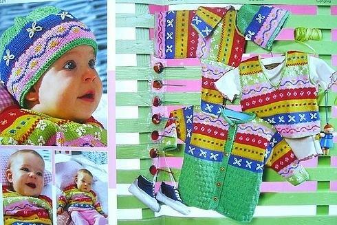 Bebek Yeleği ve Hırka Örnekleri: Hırka Örnekleri, Aylarında Çocuklarınız, Knitting Baby, Knits Baby, Baby Vest, Bebek Yelek, Çocuklarınız Aman, Bebek Takımları, Baby Kits