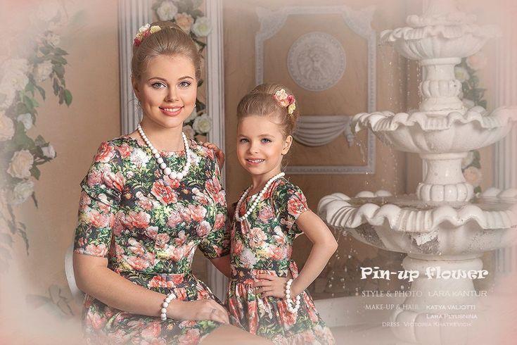 """Фотосессия """"Мама и дочь"""". Красавицы!"""