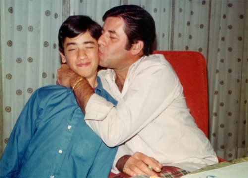 Jerry Lewis & son, Gary