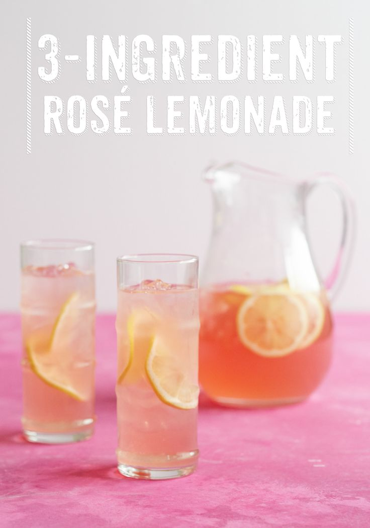 This is the ULTIMATE rosé wine cocktail. Some summer pitcher cocktails are overly complicated, but not this one! All you need is rose, seltzer, lemonade and... ok a lemon, but that doesn't count. This is SO EASY and SO REFRESHING. Bust out your favorite pitcher. It's time to drink.