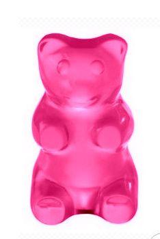 Sugar Rush! Teddyberen lusten we tegenwoordig rauw, het liefst als ze glimmend snoeproze zijn…