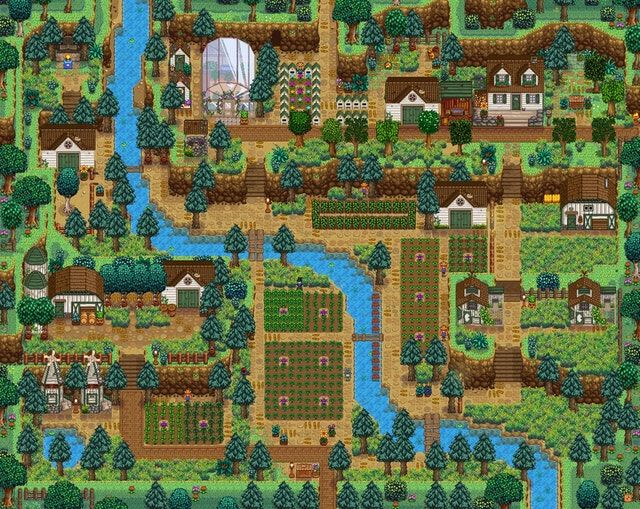 Farms Of Stardew Valley Soundnew Hill Top 農場 スターデュー