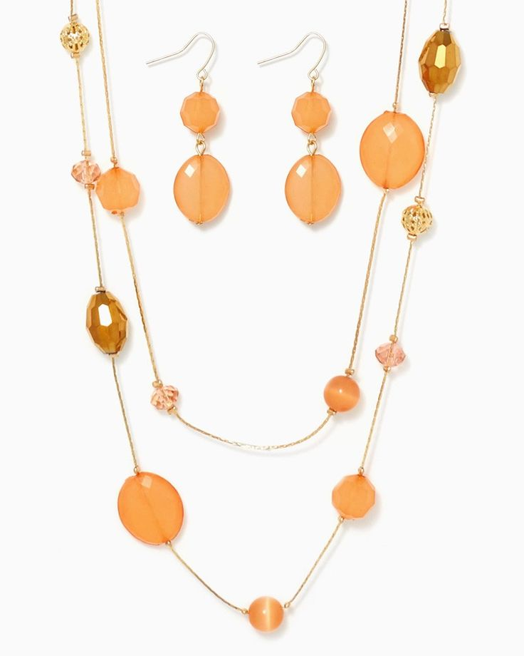 charming charlie   Decadent Lengths Necklace Set   UPC: 410006714205 #charmingcharlie