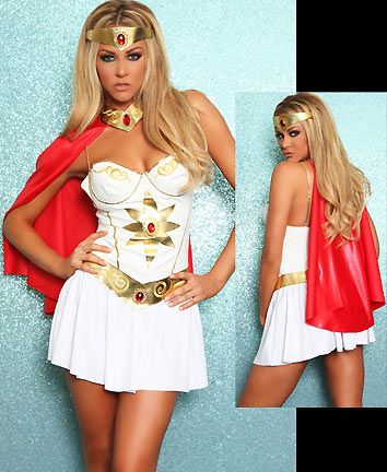 She-ra was my favorite as a kid... I think I need this costume =)