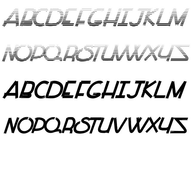 Paint all Time Font