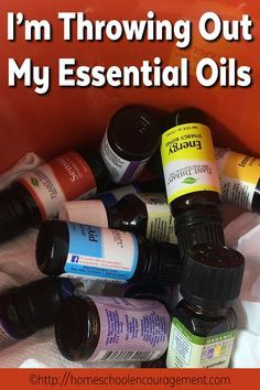 Here's WHY I'm Throwing Out My Essential Oils.