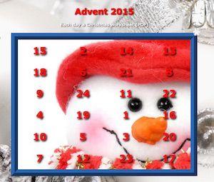Weihnachtliches Lesegewimmel - abcund123