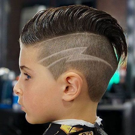 Hair Side Cut Line Jungen