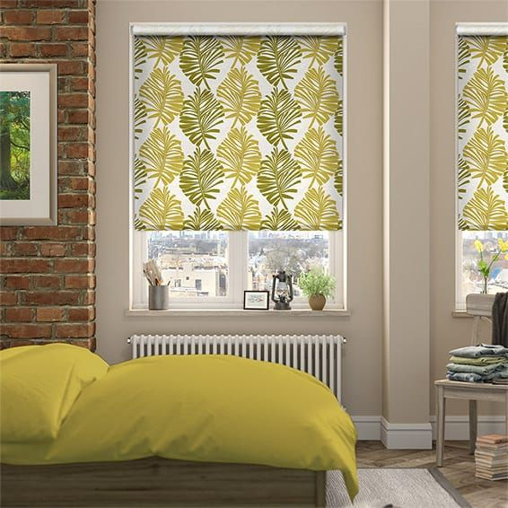 Choices Amazonia Tropical Green Roller Blind