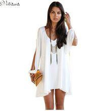 2017 Новый стиль Мода Лето Sexy Beach Одежда Партии Женщин Шифоновое Vestidos Dress Девять цвет S-XXXL Макси Размер(China (Mainland))