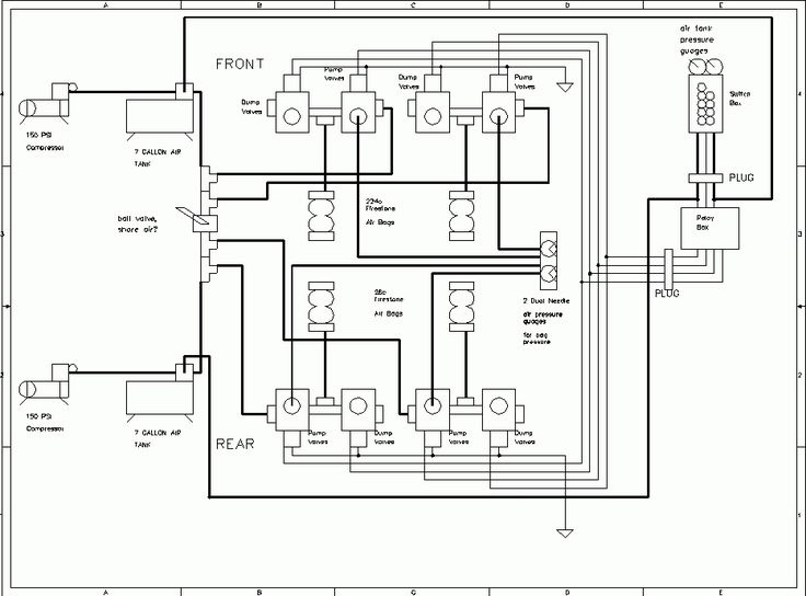 air ride solenoid wiring diagram