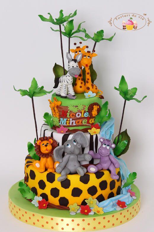 Jungle cake - Cake by Viorica Dinu
