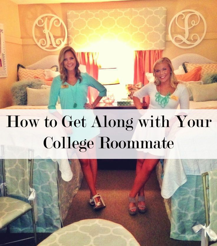 Getting along with your college roommate college