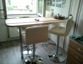 Küchen-Tresen-Tisch Holzbearbeitung (fräsen/sägen/schleifen/bohren)