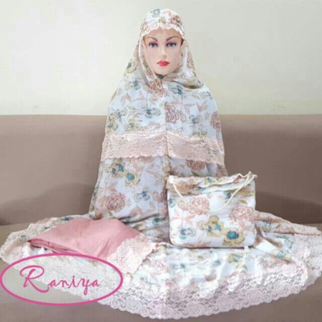 Saya menjual Mukena motif bunga silky rayon putih dusty seharga Rp275.000. Dapatkan produk ini hanya di Shopee! https://shopee.co.id/raniya.shop/255328914/ #ShopeeID