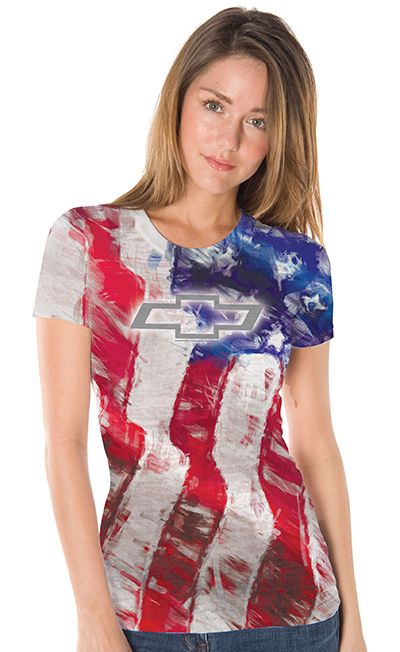 Chevrolet Ladies American T-Shirt