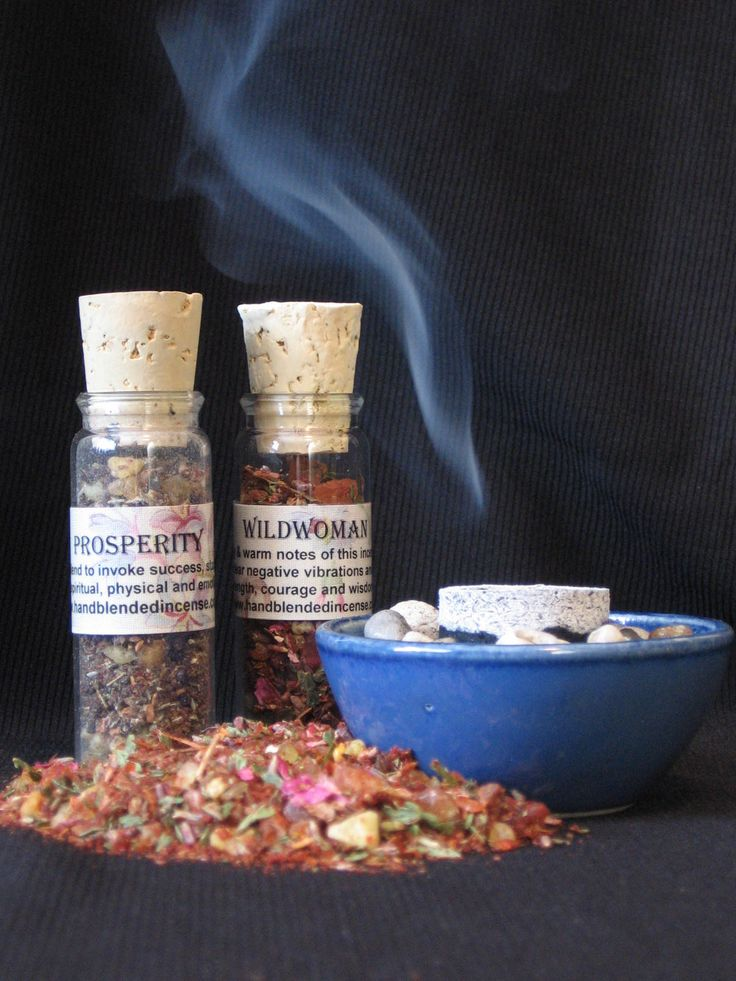 Learn how to burn loose hand blended incense on both