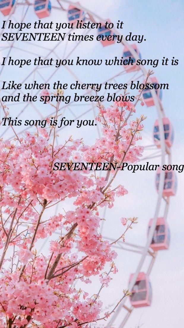 Seventeen Lyrics Kata Kata