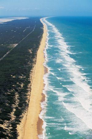 Ninety Mile Beach, Victoria.