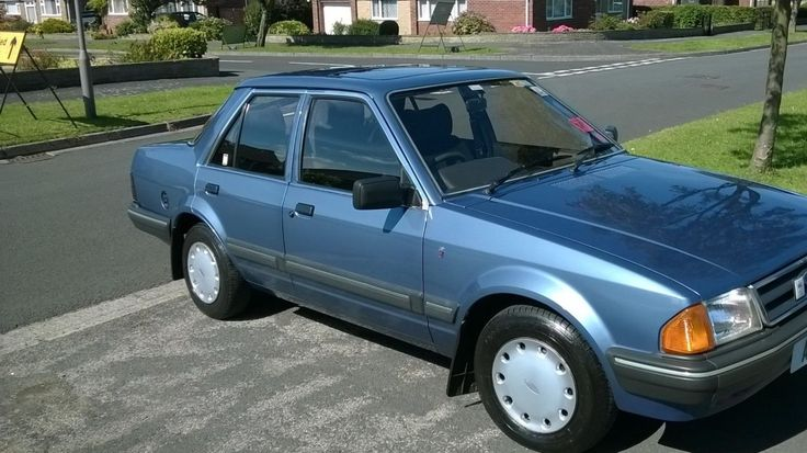 This Heres My Rare 1983 Mk1 Ford Orion 1.6 Ghia Auto With Just 21,270 Miles From New. is for sale.