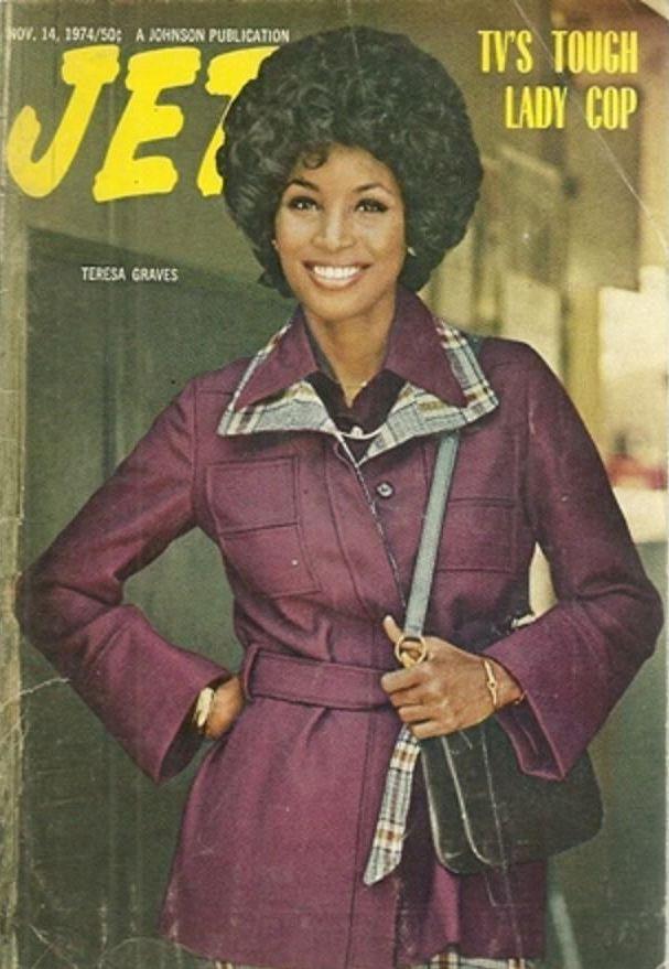 Jet Teresa Graves November 14 1974 Female Cop I