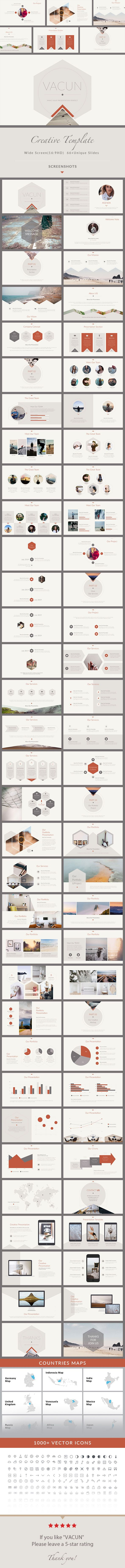 828 best ppt images on pinterest presentation design vacun creative powerpoint presentation template toneelgroepblik Images