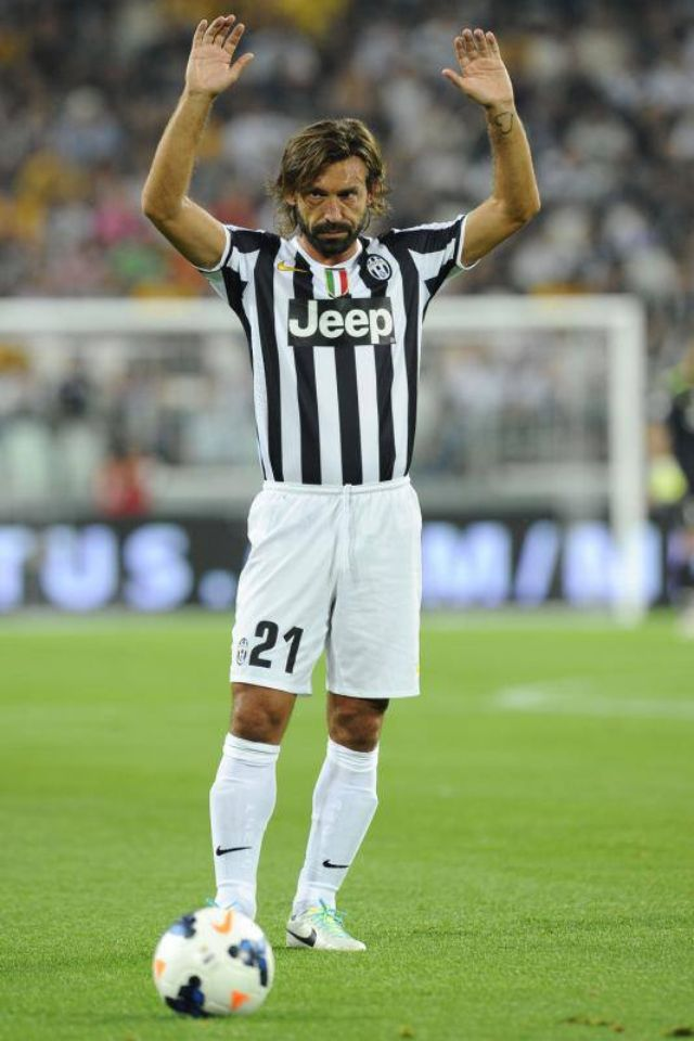 Andrea Pirlo: Great Beard Great Hair Great Footballer