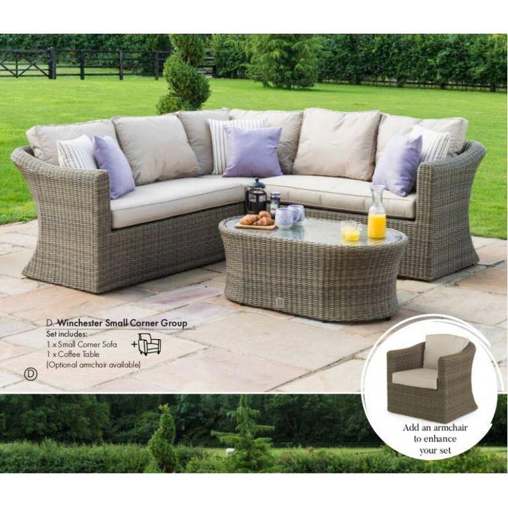 Lounge sofa 2 sitzer outdoor  20 best Garden Furniture images on Pinterest | Backyard furniture ...