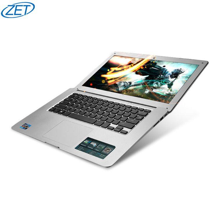 8 GB de Ram 120 GB SSD 1000 GB HDD Ultrafino Quad Core J1900 Correr Rápido Windows10 sistema Portátil Ordenador portátil, envío gratis