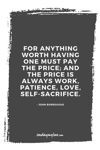"""Find quotes, relationship advice and gifts: www.sending-my-love.com """"For anything worth having one must pay the price; and the price is always work, patience, love, self-sacrifice."""" - Long distance relationship quotes"""