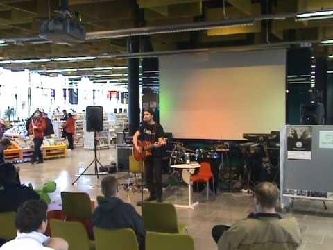 Kristian Meurman @ Entressen kirjaston avajaiset (2)