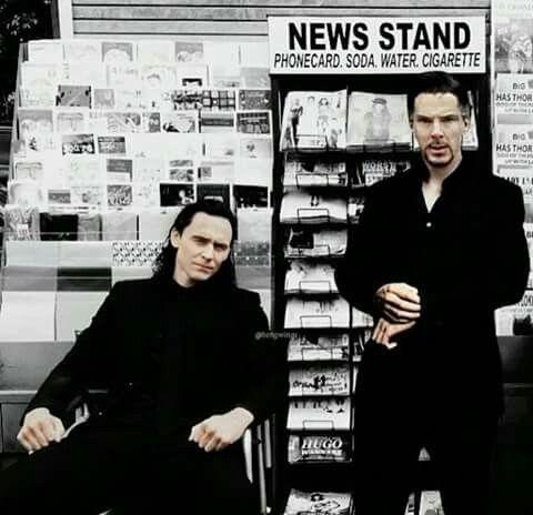Tom Hiddlestone & Benedict Cumberbatch