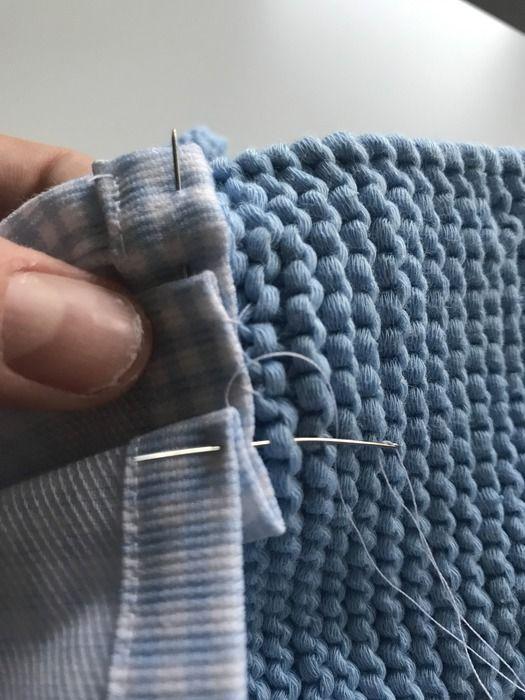 Como coser la tela al canesú para hacer el vestido
