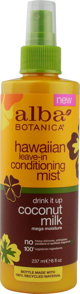 Alba Botanica® Hawaiian Leave In Conditioning Mist Coconut Milk -- 8 fl oz