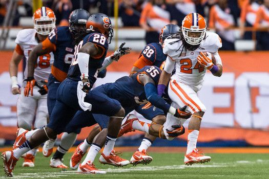 Clemson loses RB Zac Brooks for season with injured foot