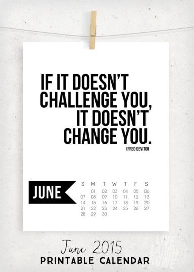 June Calendar Sayings : Free printable calendar for june with