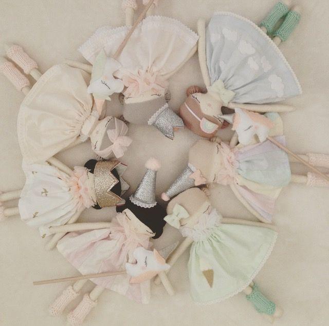 Bean n Me handmade darling dolls